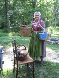 Living history woman