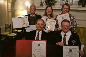 Award Presentation at Liriodendron Spring 2014