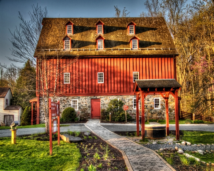 GRIST MILL-VISITOR CENTER